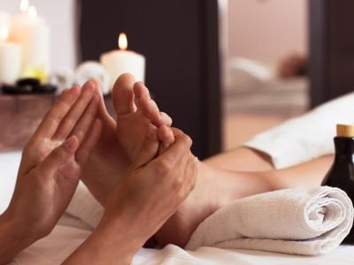 Fußreflexzonenmassage, Energie Massage,